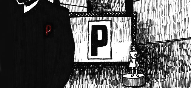 Portishead, Portishead album cover illustration