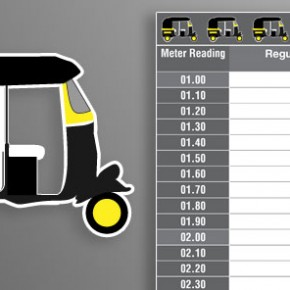 The Mumbai Auto-rickshaw Fare card